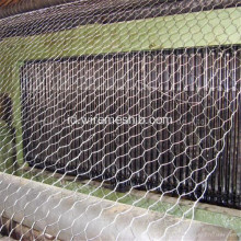 3,9 mm Galvanized Gabion Basket untuk River Bank Project