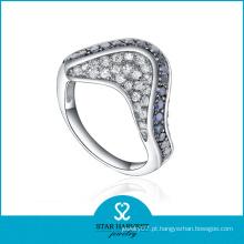 Moda Sapphire Anel CZ Jóias (SH-R0292)