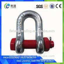 Swivel colored stainless steel anchor shackle