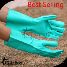 SRSAFETY anti oil gloves with great quality 2015