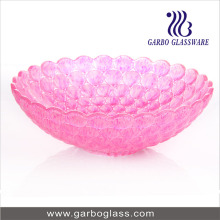 12 '' Rosa Cor Srpayed Fruit Bowl (GB1610YD / DGS)