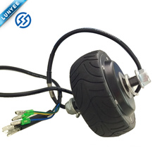 Customized 5 inch 250w brushless Hub Motor wheel for electric scooter