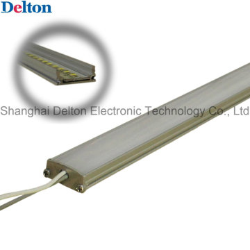 DC24V 3.8W barra de luz do gabinete do diodo emissor de luz (tira do diodo emissor de luz com carcaça)
