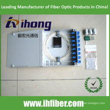 FTTH Mini caja de terminales de fibra óptica 16 puertos