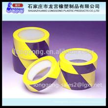 Fita de advertência de PVC / fita de chão