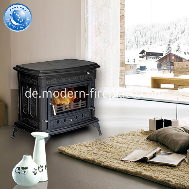 Cast Iron Wood Burning Stoves BDW02T-14K(S)
