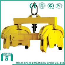 Pince mécanique en acier usiné dans la masse avec haute capacité de levage