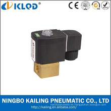 Kl223 serie mini tipo válvula de solenoide de agua de acción directa 24V
