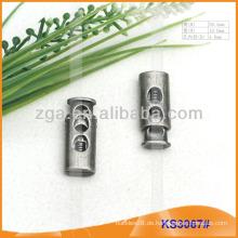 Metallkordelstopper oder Knebel für Kleidungsstücke, Handtaschen und Schuhe KS3067 #