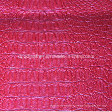 Top Grade Crocodile Design for Upholstery Leather (QDL-53199)