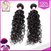 Russische schwarze farbige lockiges Erweiterungen Afro-Haar Pferdeschwanz
