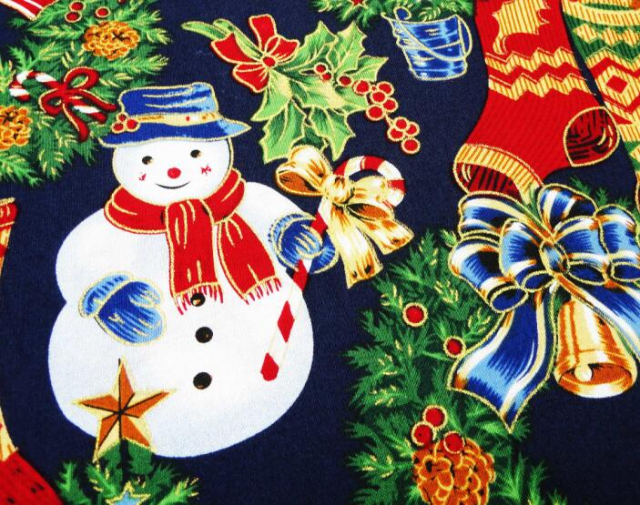 Cotton Christmas fabric