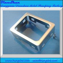 Gestanzte Metallteile aus rostfreiem Stahl, tiefgezogen