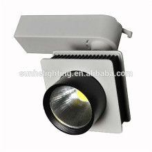 High lumen led track light clothing store led track light housing dimmable led track lighting