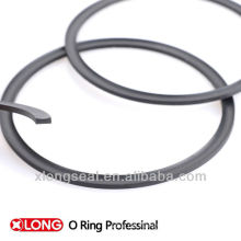 Schwarze viton back up ring