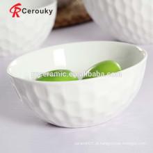 Bacia de porcelana de cerâmica tigela de frango de cerâmica