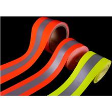 100% Polyester Gewebtes Warnband