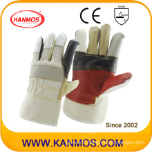 Rainbow Color Furniture Leather Industrial Safety Work Gloves (310012)