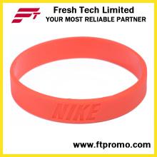 Fashion Silicone Bracelet OEM Silicone Wristband
