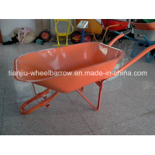 Modelo Nigeria Prestar / Goldenstar Brand Wheelbarrow Wb6501