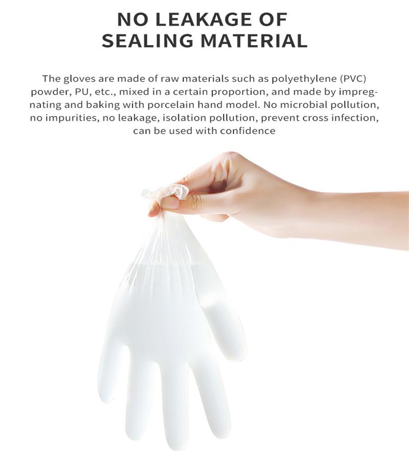 Disposable Powder-free Examination PVC Gloves
