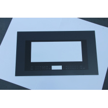 Porta de vidro do forno temperado preto / branco / rosa