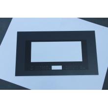 Porte en verre de four trempé noir/blanc/rose