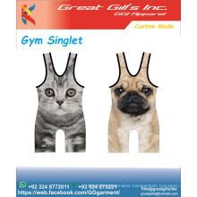 Custom Bodybuilding Stringer gym Singlet / gym tank tops NEW DESIGN