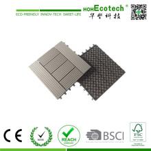 Engineered Flooring Art und Holz-Kunststoff-Composite-Bodenbelag Technik WPC Eco Patio Bodenfliesen