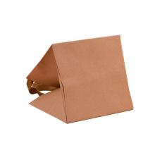 Custom Brown Kraft Paper Bag with Logo Print Gift Bag