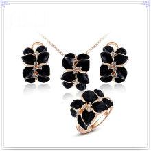 Ensemble de bijoux en alliage bijoux en cristal de bijoux de mode (AJS152)