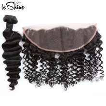 Factory Sale 360 Lace Frontal Closure Mink Cuticle Aligned Brazilian Hair Bundle Dropshipping Wholesale Distributors