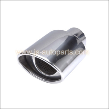 PERF CORE INSIDE, OVAL RROLLED SLANT OUTLET STAINLESS STEEL TIP