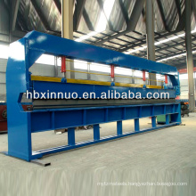 hydraulic manual metal plate flat sheet bending forming machine price