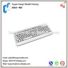 Prototipo plástico o mais vendido popular do cnc para o teclado