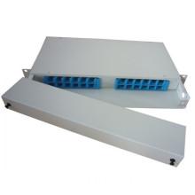 12/24 Core Rack Mount Fiber Optic Patch Panel