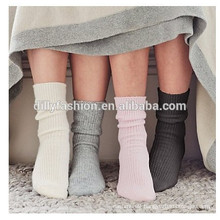 100% cashmere custom socks man cashmere socks