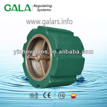 wafer type silent check valve