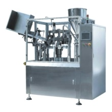 Automatic plastic tube filling and sealing equipment with PLC