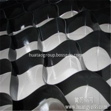 Black Smooth HDPE Geocell without Hole