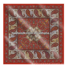 Screen print bandana in paisley design