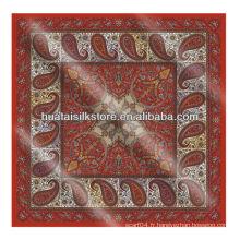 Tissu bandana sur mesure, banderole grossiste en tissu en design de mode Paisley