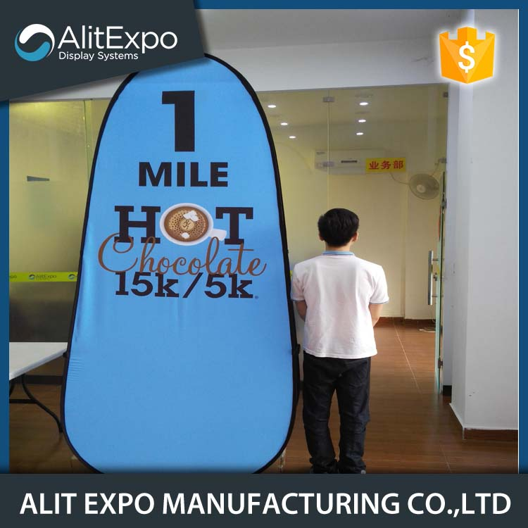 Promotional quick display double side advertising banner
