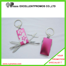 Stainless Steel Multi Nail Care Tool Keychain (EP-T41135)
