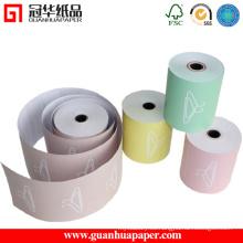 Papel térmico térmico multicolor ISO9001