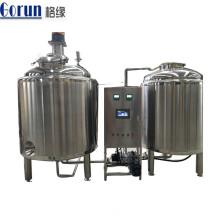 Tanque de mistura líquido químico de aço inoxidável cosmético