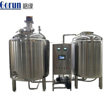 Cosmetic Stainless Steel Chemical Liquid Mixing Tank