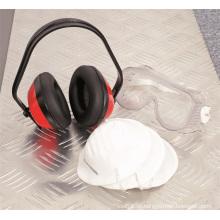 Sicherheitsprodukte Kit Ear Muffs Ohr / Augen / Protector Atemschutzmaske OEM