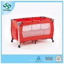 Heißer Verkauf Aluminium Einfache bequeme Baby-Krippe mit doppeltem Babybett (SH-A8)