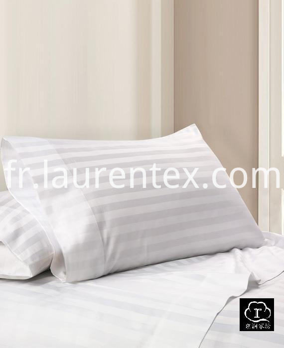 white-stripe-Sheet-set